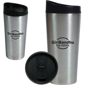 Slant Top Auto Tumbler Printed with Your Logo