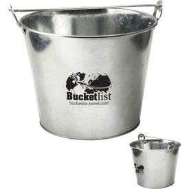 5 Quart Galvanized Ice Bucket with Bottle Opener