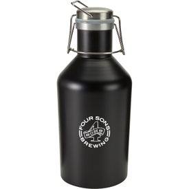 Stainless Steel BPA Free Growler (64 Oz.)
