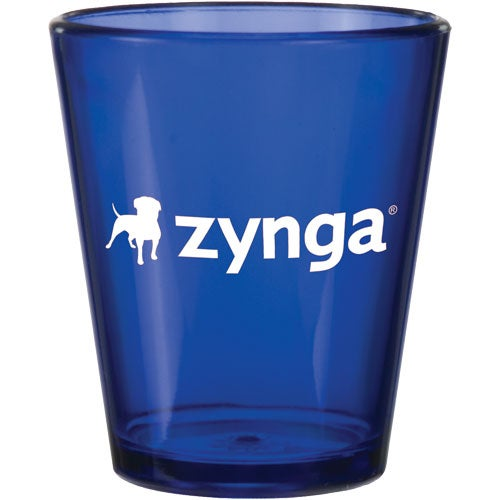 Promotional 2 Oz Acrylic Shot Glasses With Custom Logo