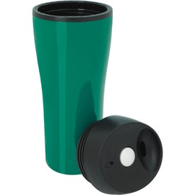 Advertising Acrylic Tumbler with Press Button Lid
