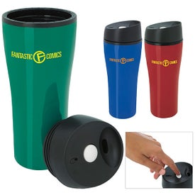 Acrylic Tumbler with Press Button Lid (15 Oz.)