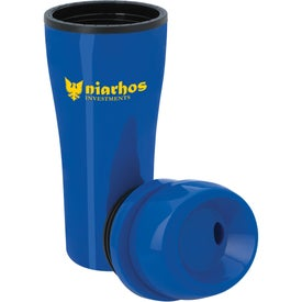 Branded Acrylic Tumbler with Sliding Lid