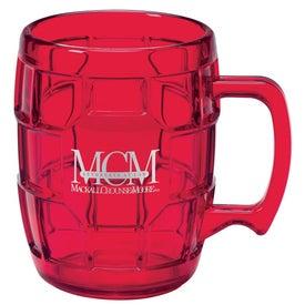 Acrylic Turtle Mug for Advertising