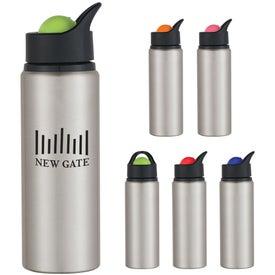 Aluminum Orbit Bottle Branded with Your Logo