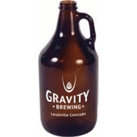 Amber Growler (32 Oz., No Quick Ship)