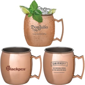 Annapurna Copper Plated Moscow Mule Mugs (17 Oz.)