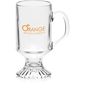 ARC Footed Sports Glass Mug (10 Oz.)