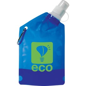 Promotional Baja Water Bag with Carabiner