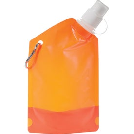 Baja Water Bag with Carabiner with Your Logo