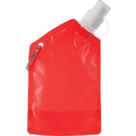 Baja Water Bag with Carabiner for Advertising