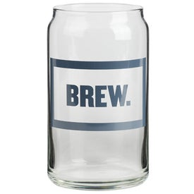 Beer Can Glass (16 Oz.)