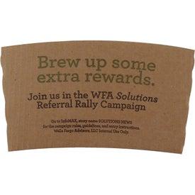 Brown Kraft Drink Sleeve