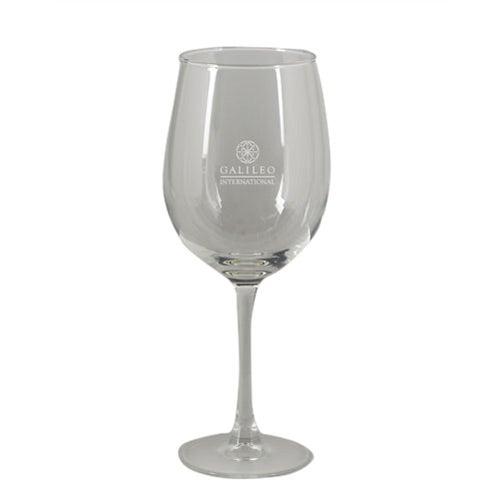 Commemorative Wine Glass And Lanyard