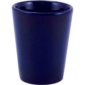 Ceramic Shot Glass (1.5 Oz., Cobalt)
