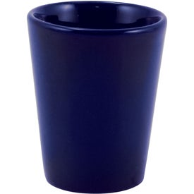Ceramic Shot Glass (1.5 Oz., Cobalt)