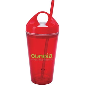 Circle Lid Acrylic Tumbler for Advertising