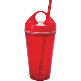 Circle Lid Acrylic Tumbler for Promotion