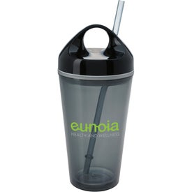 Advertising Circle Lid Acrylic Tumbler