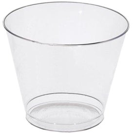Clear and Classic Old Fashioned Crystal Cup (9 Oz.)