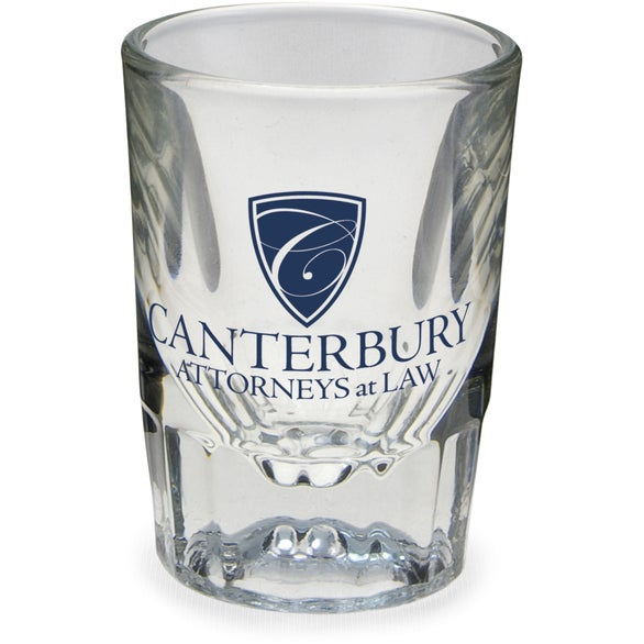 Clear Clear Fluted Shot Glass