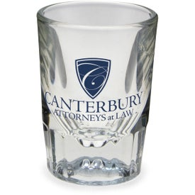 Clear Fluted Shot Glass (2 Oz.)