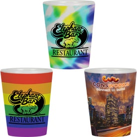Collector Cup Ceramic Shot Glass (1.5 Oz.)