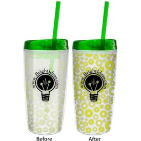 Monogrammed Color Changing Insulated Tumbler