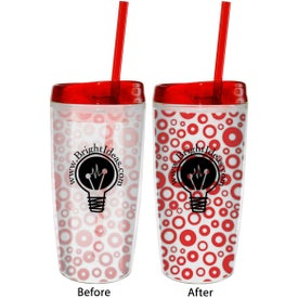 Color Changing Insulated Tumbler for Marketing