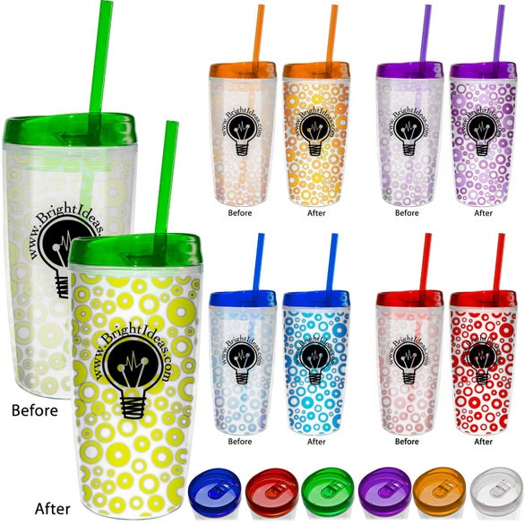 Color Changing Insulated Tumbler