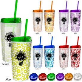 Logo Color Changing Insulated Tumbler