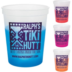 Color Changing Stadium Cups (16 Oz.)