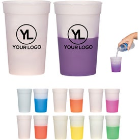 Imprinted Color Changing Stadium Cup