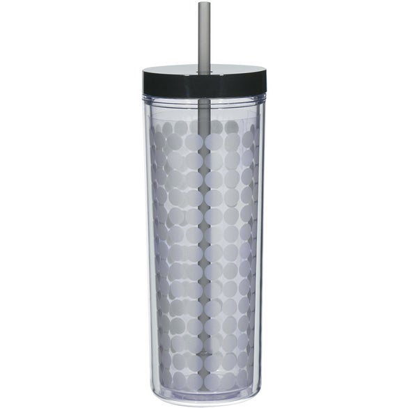 Clear / Black Color Changing Tumbler