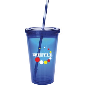 Colored Candy Cane Tumbler for Promotion