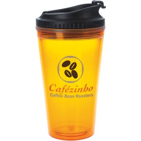 Customized Colored Tumbler with Black Lid