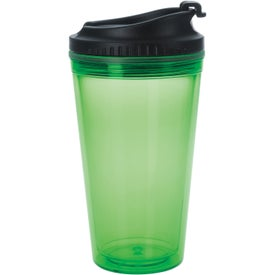 Colored Tumbler with Black Lid for Your Church