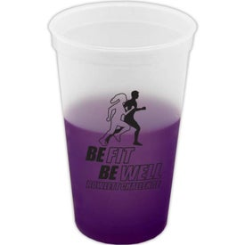 Branded Cool Color Changing Cup