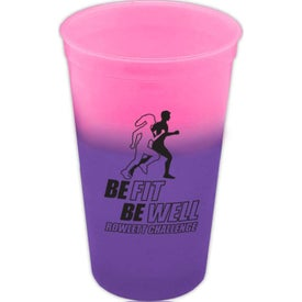 Imprinted Cool Color Changing Cup