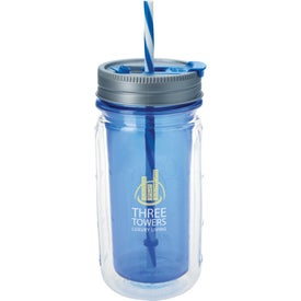 Cool Gear Mason Tumbler Printed with Your Logo