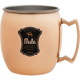 Copper Coated Moscow Mule Mugs (16 Oz.)