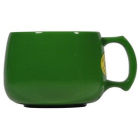 Corn Mug Souper and Coaster / Lid Imprinted with Your Logo
