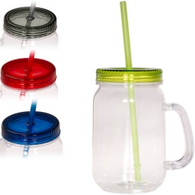 Country Mason Jar Sipper for Marketing