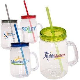 Country Mason Jar Sipper for Promotion
