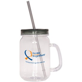 Country Mason Jar Sipper for Your Organization