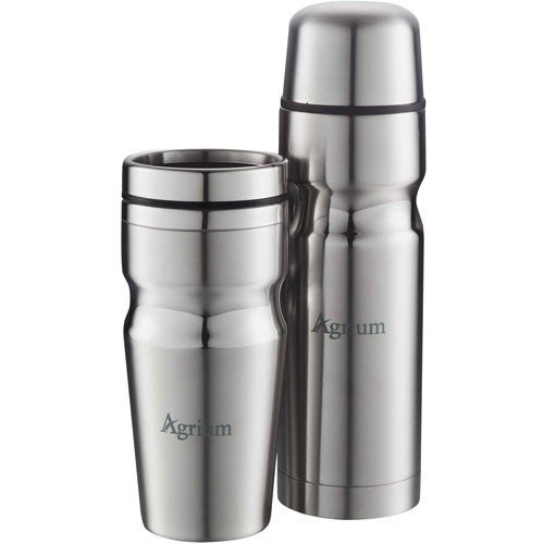 Deco Band Insulated Bottle & Tumbler Gift Set