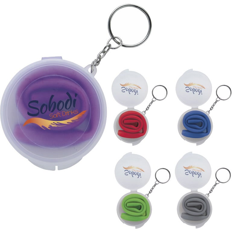 Delight Silicone Straw in Box with Keychain