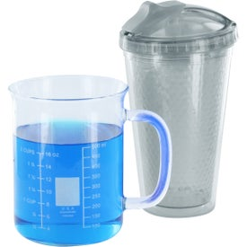 Diamond Double Wall Tumbler with Straw Branded with Your Logo