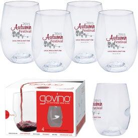 Dishwasher Safe Govino Wine Glass 4 Pack (16 Oz.)