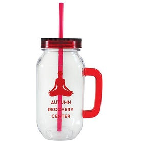 Dixie Mason Jar Mug for Your Organization